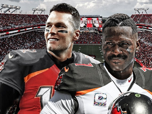 Brady gets his Buddy Back! Antonio Brown signs with Tampa Bay.