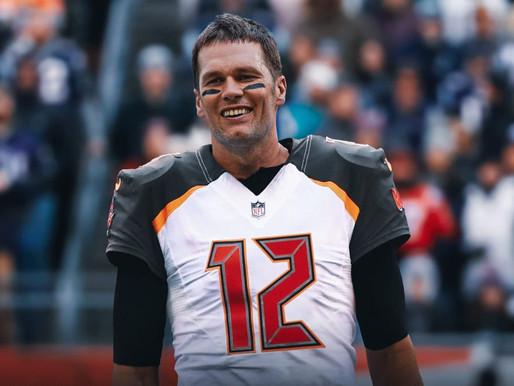 TB-12 to TB, FL: Tom Brady signs with Bucs