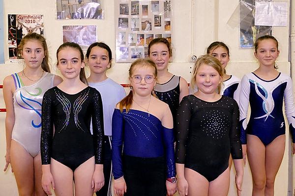 club de gymnastique liège pour filles