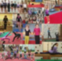 club de gymnastique apprendre à faire la roue rondate sol saut sauter poutre les barres