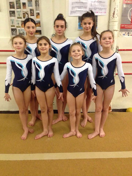 filles gymnastique