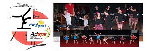 club de gymnastique artistique à Liège cours de danse et gymnastique artistique