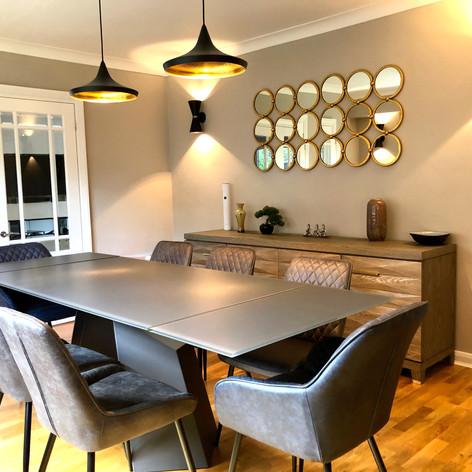 Dining Room Design, Little Chalfont, Buckinghamshire