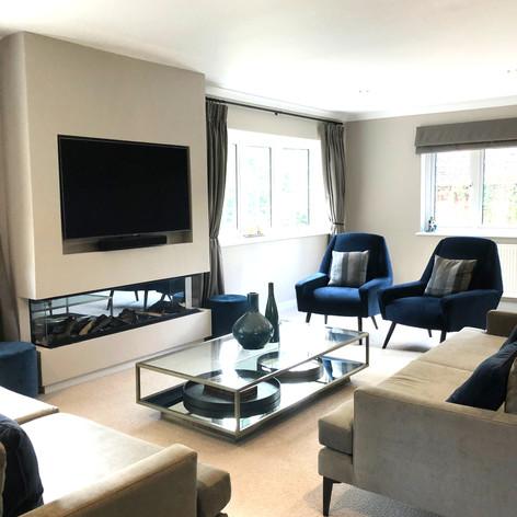 Living Room Design, Little Chalfont, Buckinghamshire