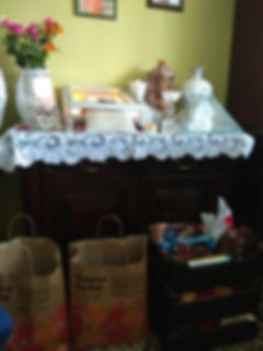 Sweets for childs from child care home.j