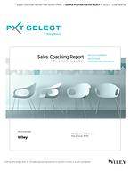 Sales Coaching Report