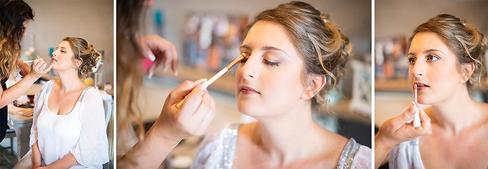photographe mariage préparatifs maquillage mariée