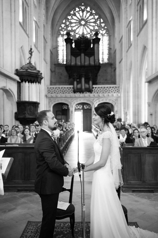 photographe mariage église saint martin pont à mousson