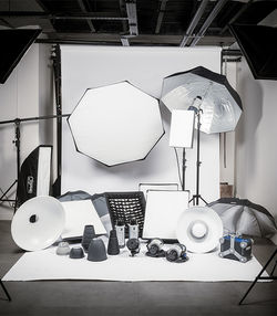 matériel du photographe