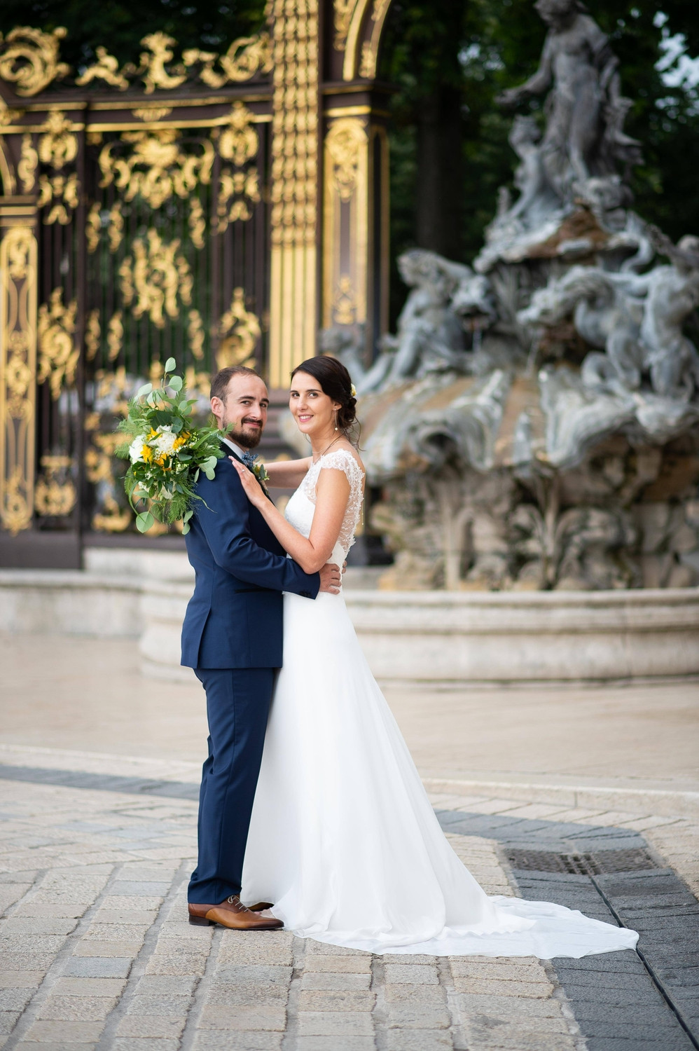 photographe mariage mairie nancy place stanislas