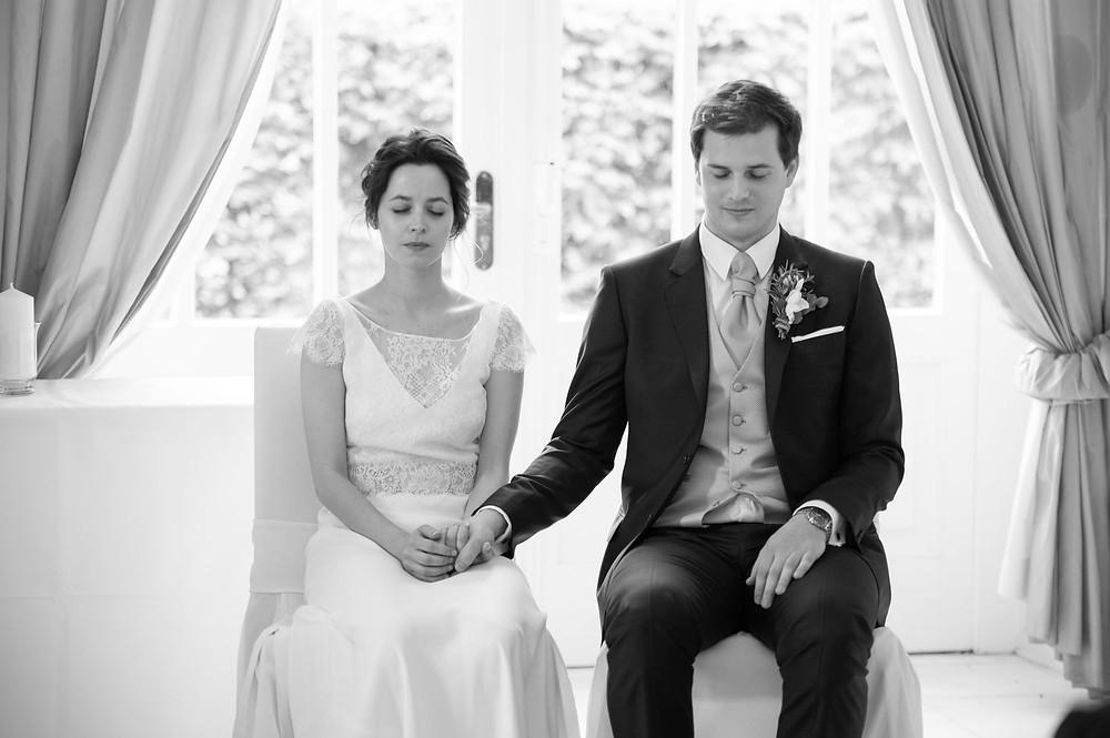 Photographe mariage cérémonie laïque à l'Orangerie à Mondorf, Luxembourg