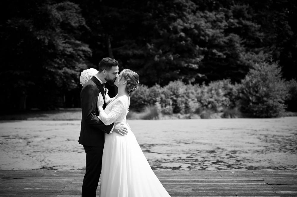 photographe mariage couple château de Volkrange