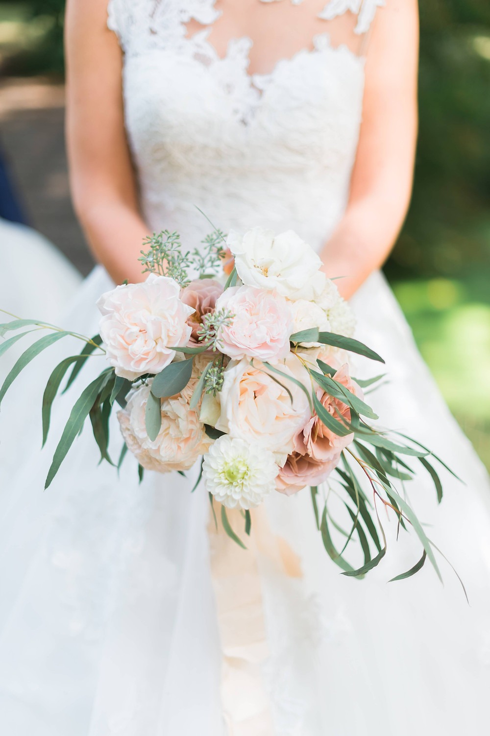 photographe mariage bouquets de fleurs