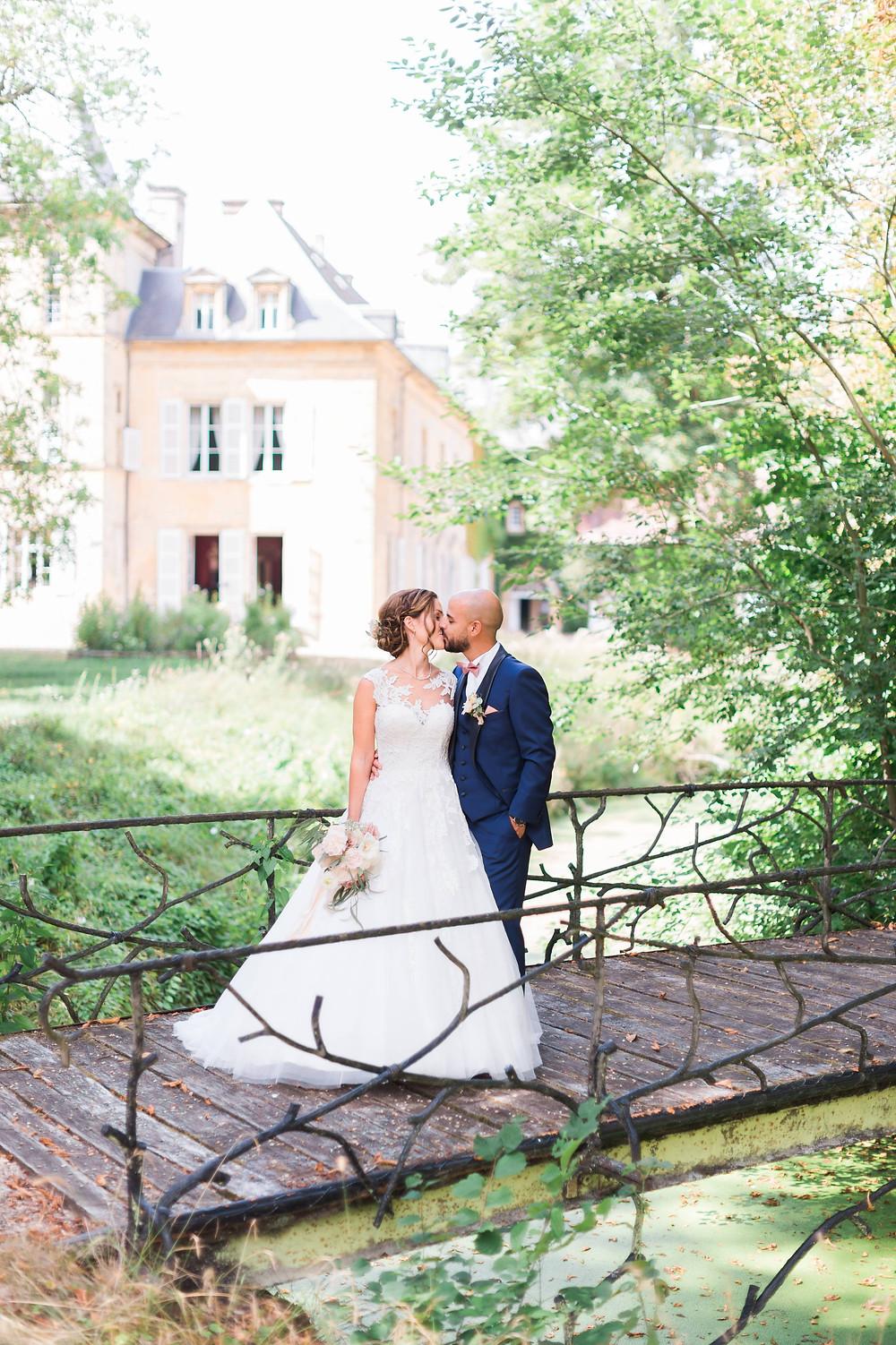 photographe mariage couple château de preisch