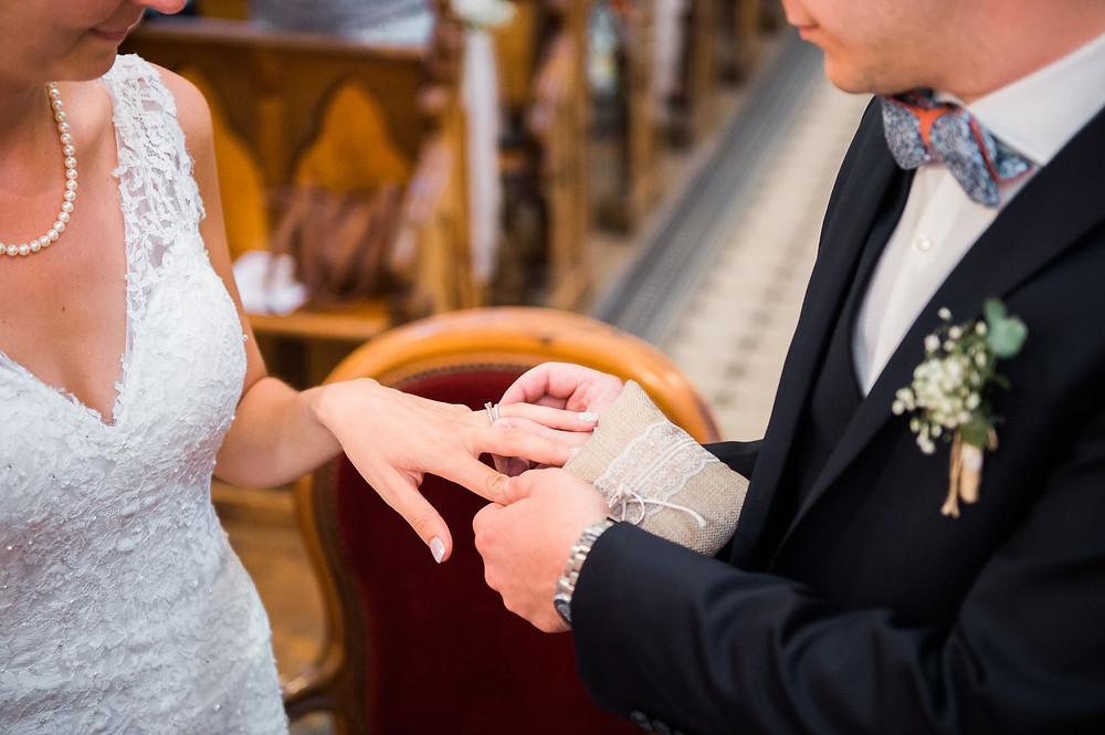 photographe mariage église pange