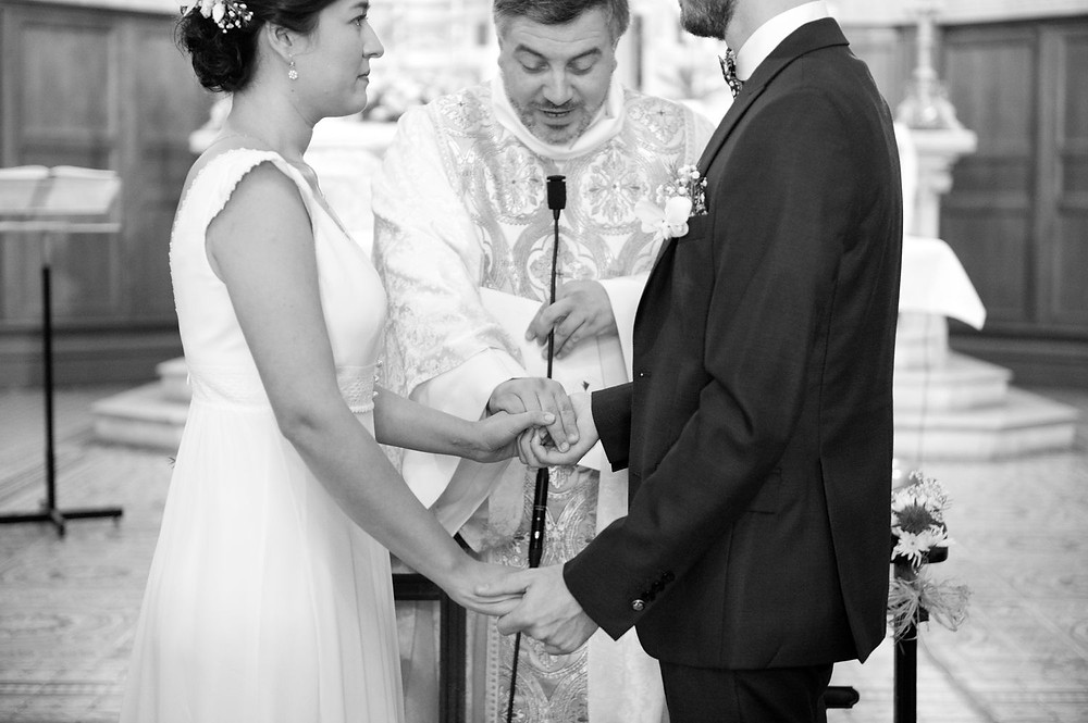 Photographe mariage église à Hettange-Grande