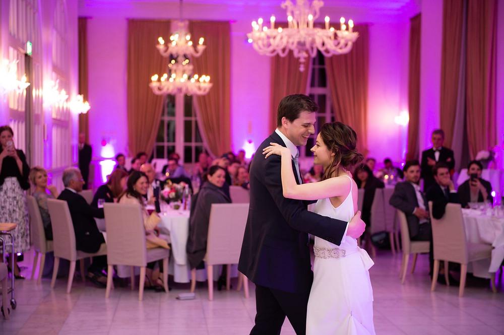 Photographe mariage soirée à l'Orangerie à Mondorf, Luxembourg