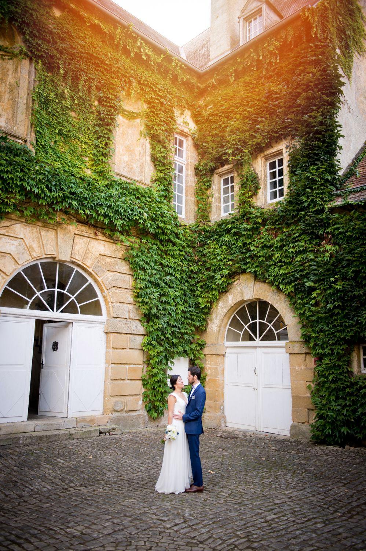 Photographe mariage couple au château de Preisch