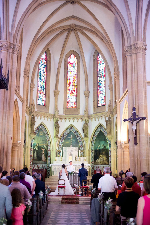 Photographe mariage metz église