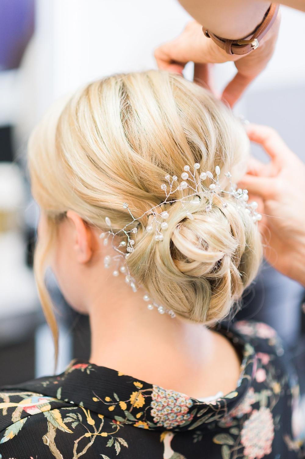 photographe mariage préparatifs david coiffeur lachambre