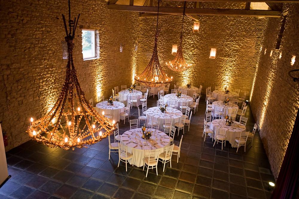 Photographe mariage décoration au château de Preisch