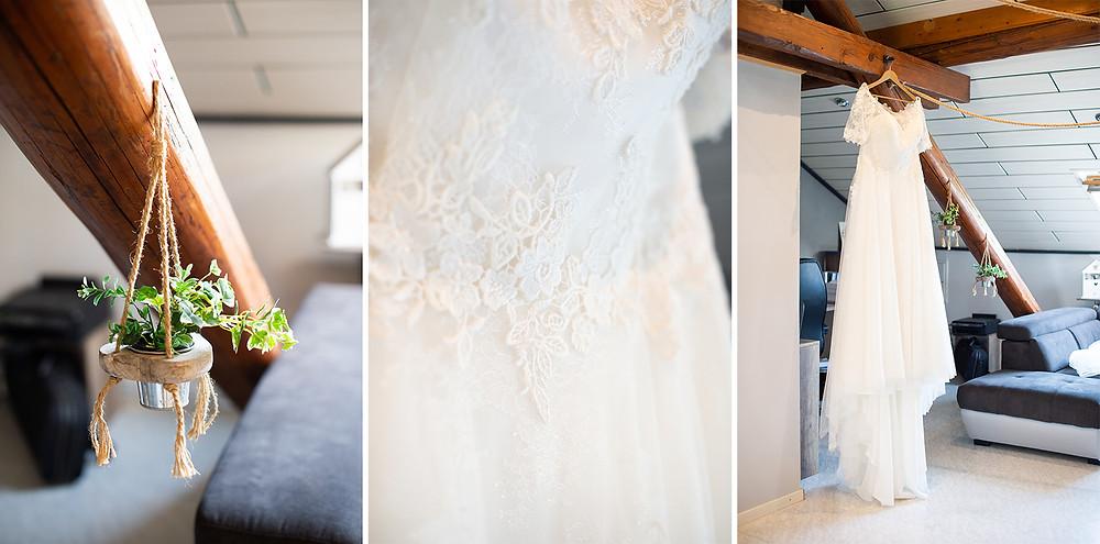 photographe mariage préparatifs détails robe mariée