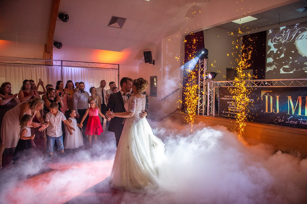 photographe mariage soirée clos des saules tenteling