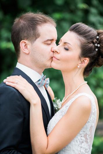 Photographe de mariage à Metz, portrait des mariés.