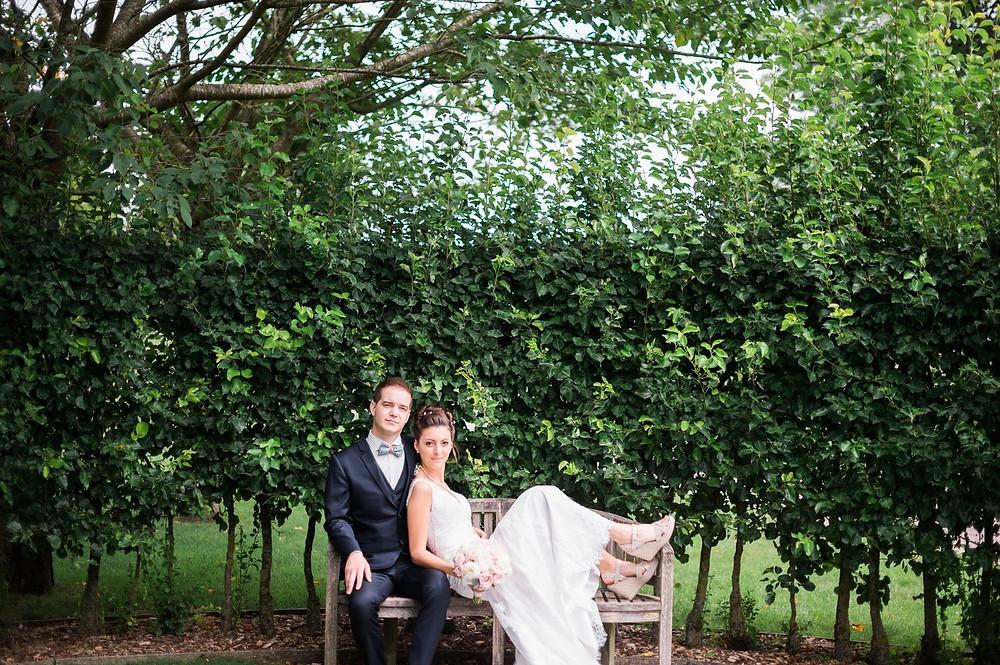 photographe mariage couple château de pange