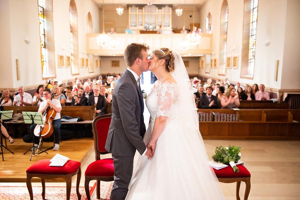photographe mariage église oeting
