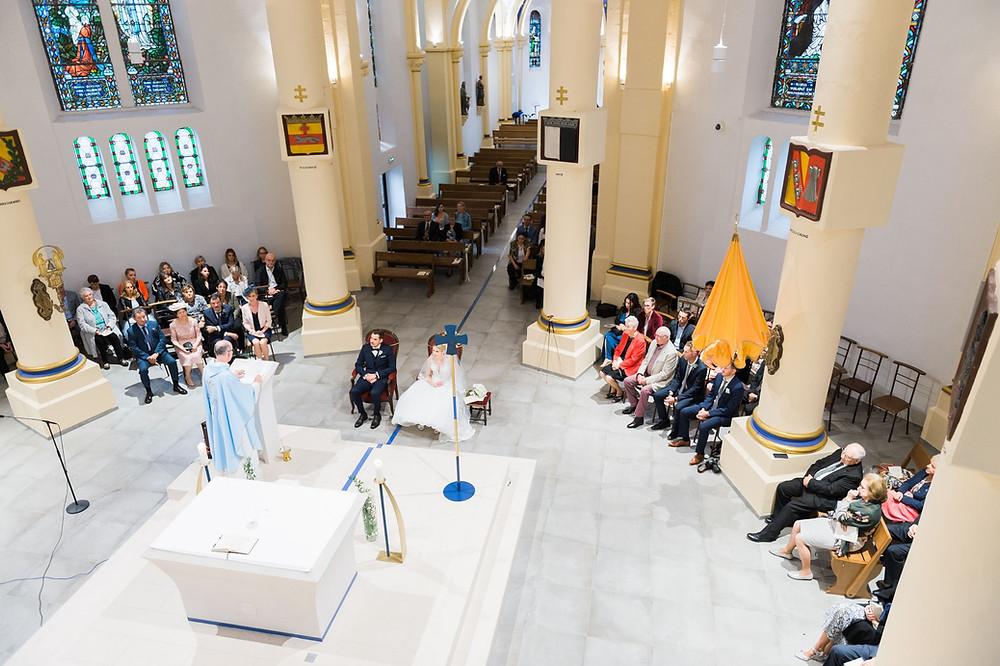 photographe mariage église basilique notre dame saint avold