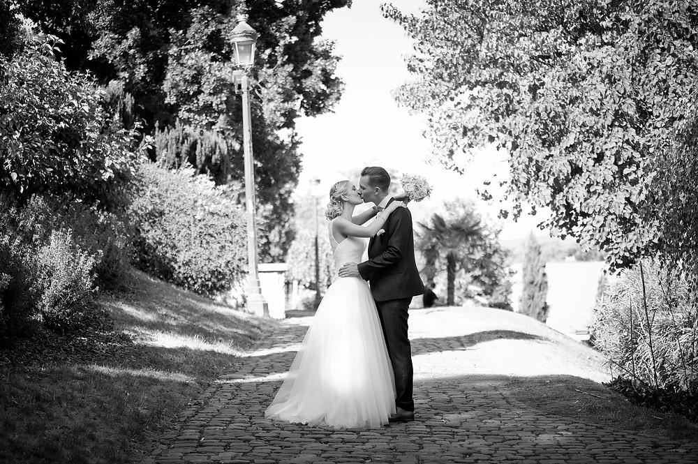 photographe mariage metz couple jardin des tanneurs