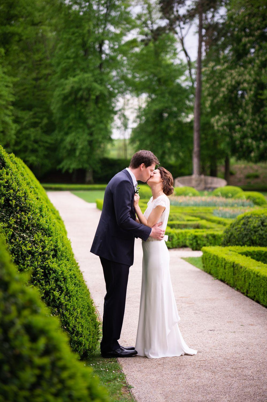 Photographe mariage couple à l'Orangerie à Mondorf, Luxembourg
