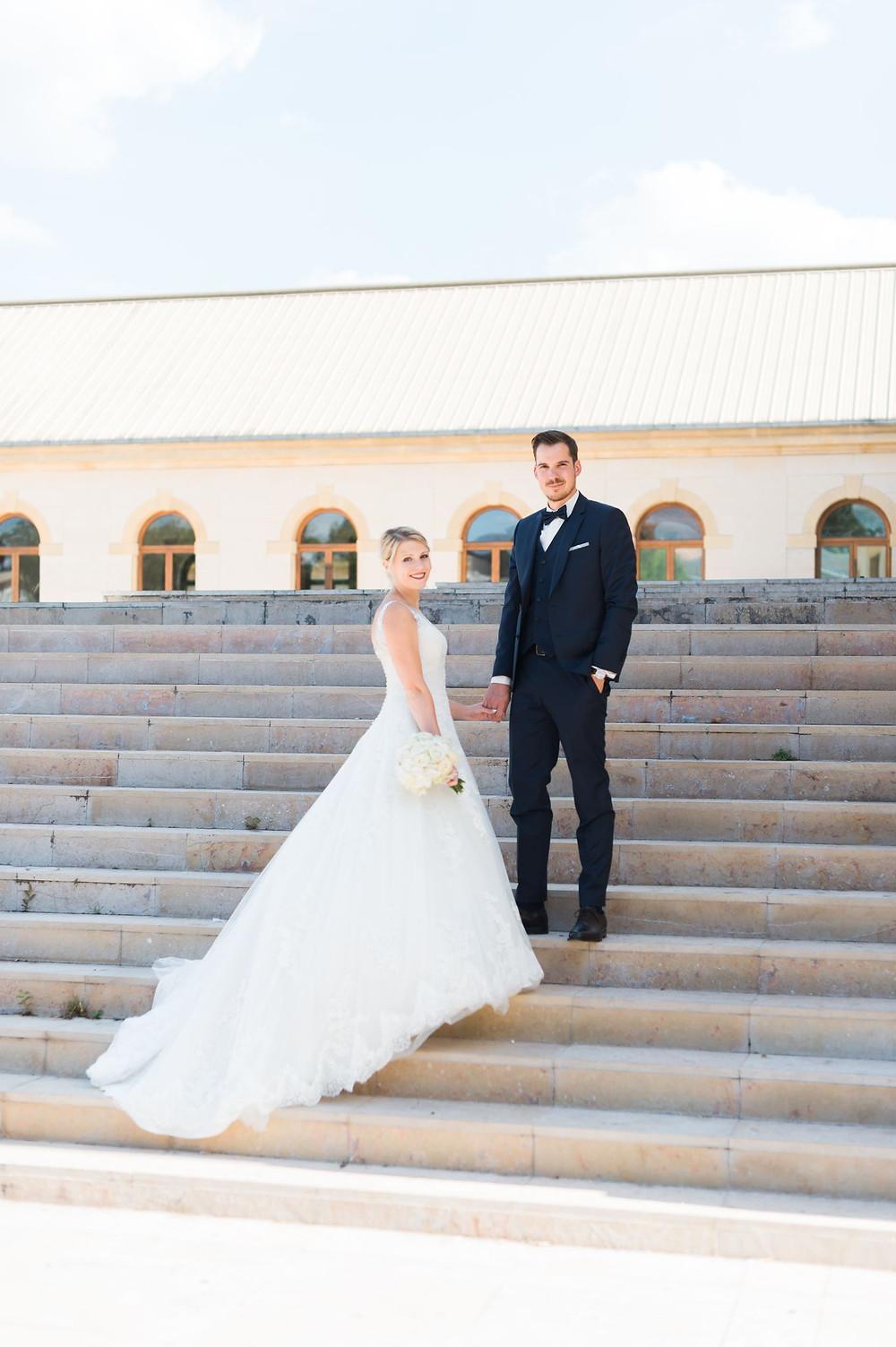 photographe mariage couple mariés arsenal metz saint pierre aux nonnains