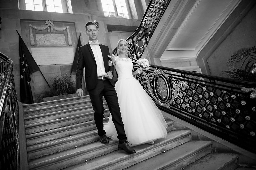 photographe mariage metz mairie place d'armes