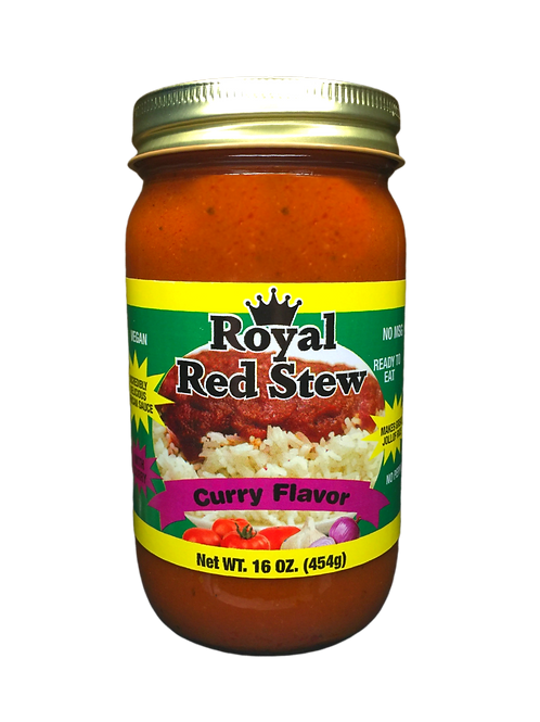 Royal Red Stew - Curry Flavor