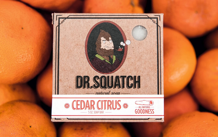 Dr Squatch cedar citrus soap