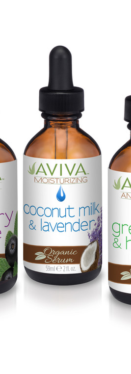 Aviva Labs Canada Organic Spray Tan Serums