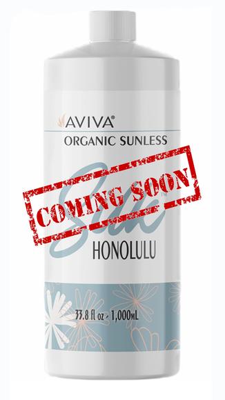 Aviva Labs Organis Silk Honolulu Sunless Tanning Solution
