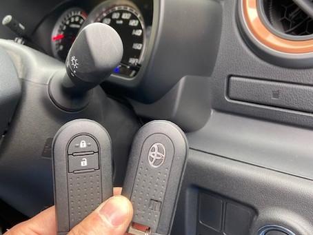 令和元年式 トヨタ パッソ スマートキー追加 富山の鍵屋