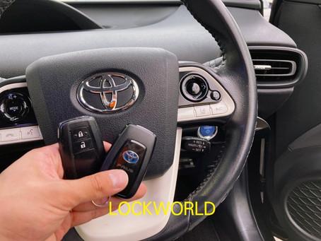 トヨタ 50プリウス スマートキー追加作業 富山の鍵屋