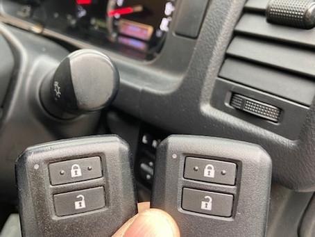 平成28年式 トヨタ ハイエース スマートキー追加作業 富山の鍵屋
