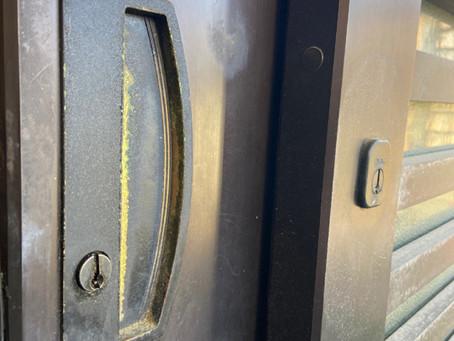 三協アルミ 引戸錠 季更(きさら)錠前交換 富山の鍵屋