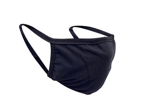 Soft Black Mask (3 Pack)
