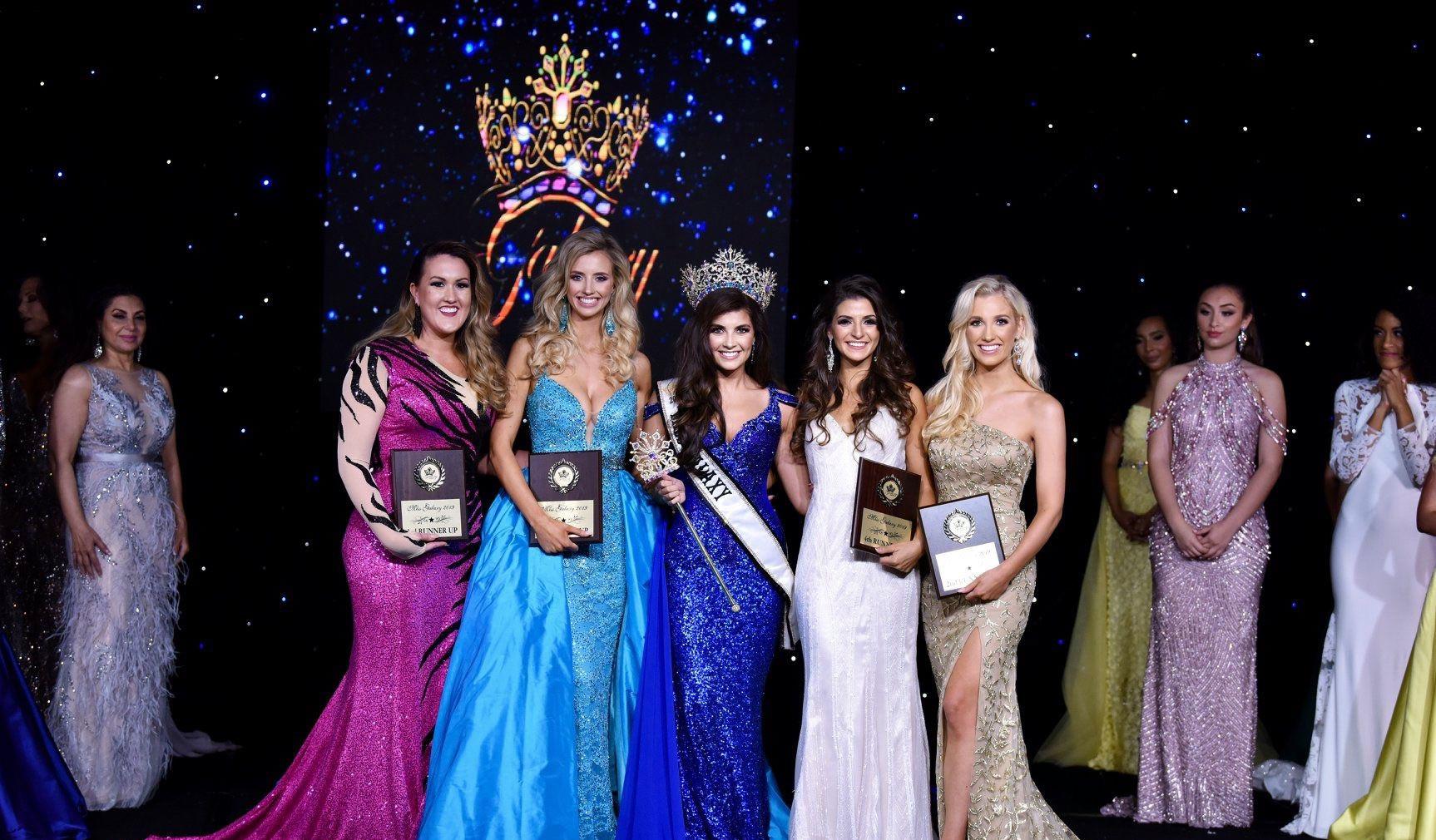 Congratulations Alicia, Miss Galaxy® 2020 1st Runner Up