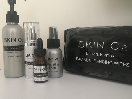 My top 5 Skin O2 skincare products