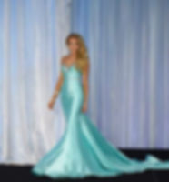 Australia Galaxy Pageants Evening Gown