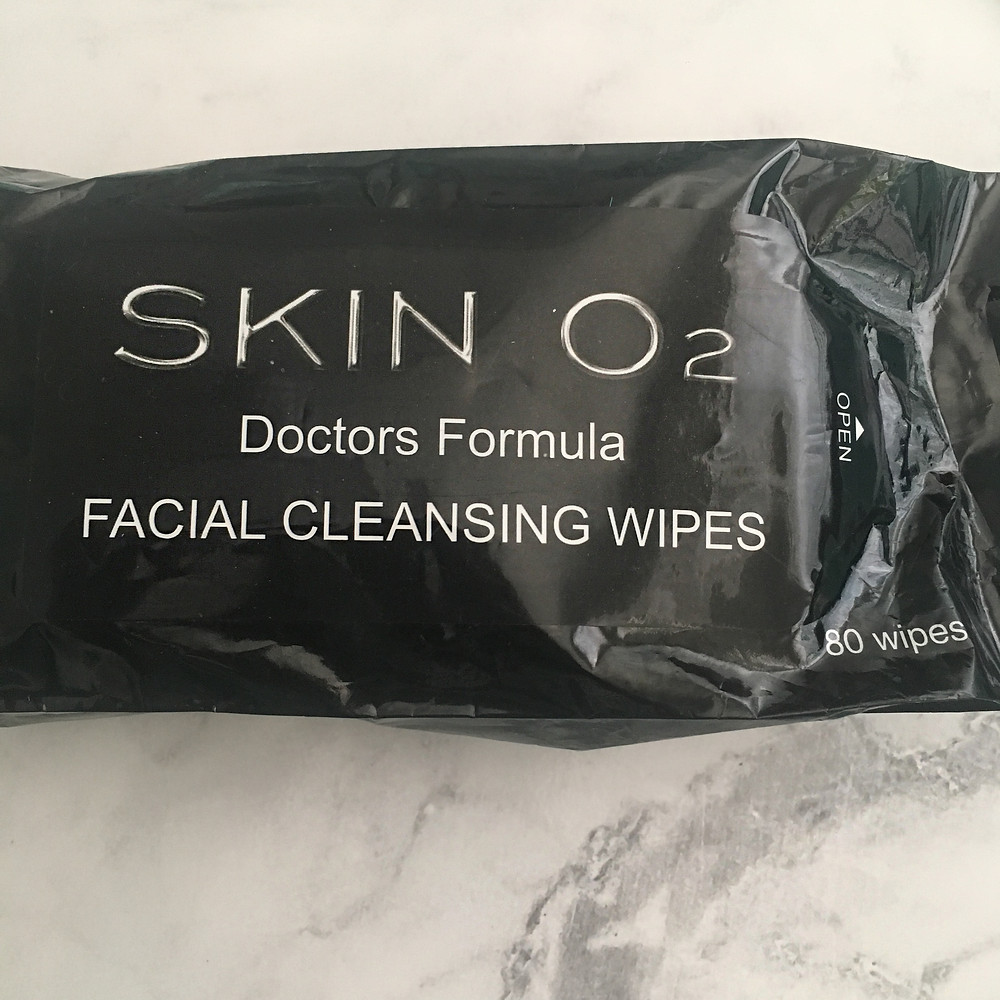 Skino2 Facial Cleansing Wipes