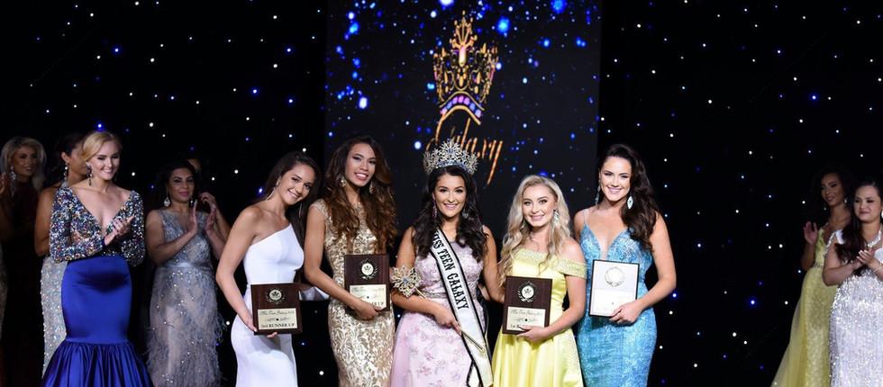 Congratulations Tiana, Miss Teen Galaxy® 2020 2nd Runner Up