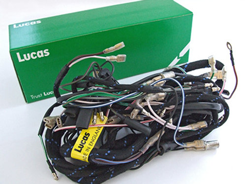 BSA C10/C11 Dyno/Coil Ignition Lucas Wiring Loom, 19273